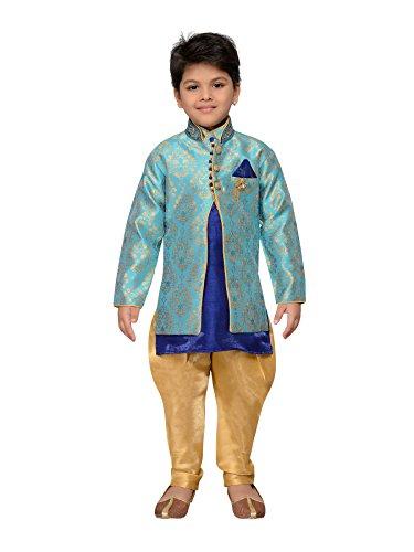 AJ Dezines Indische Kinderkleidung im Bollywood-Stil, Salwaar Sherwani für Jungen Gr.