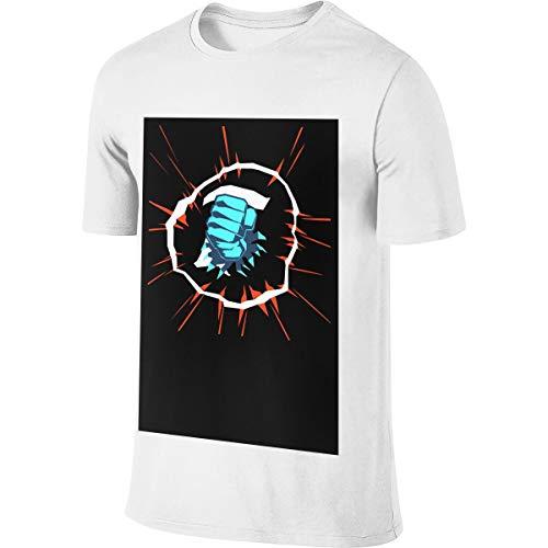 Pewdiepie Jugend Männer T-Shirt Golf Poloshirts Kurzarm S-6xl Casual Fitness Shirts Rundhalsausschnitt Baumwolle Sport Top L
