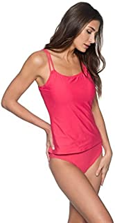 Sunsets Women's Taylor Tankini Top Swimsuit with Underwire Lover's Coral 32DD [並行輸入品]