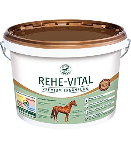 Atcom Rehe-Vital 5kg - zucker- und stärkearmes Mineralfutter für Rehe-Pferde und stoffwechselempfindliche Tiere