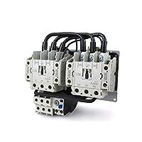 三菱電機(MITSUBISHI) MSO-2XT50 0.7A 200V AC100V 可逆式電磁開閉器 (補助接点2a2bx2 サーマル2素子) NN