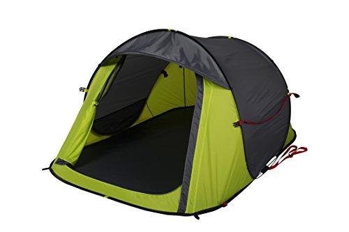 OZtrail Blitz 2 pop-up Zelt, Wurfzelt, Kuppelzelt, Familienzelt, Campingzelt für 2 Personen 125x210x100cm, 2.1kg mit Zwei Verpackungsmethoden