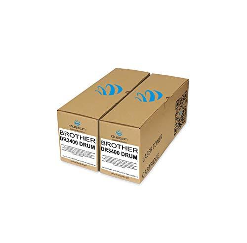 2X DR3400, DR-3400 Duston Trommel Kompatibll zu met Brother DCP-L 5500 6600 HL-L 5000 5100 5200 6250 6300 6400 MFC-L 5700 5750 6800 6800 6900