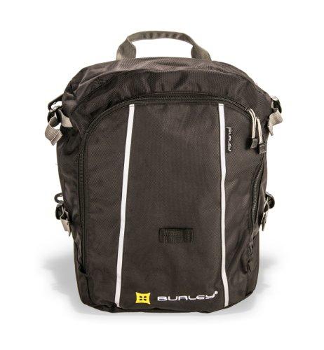 Burley Einkauftasche Für Transport Trolley Travoy Shopping Bag - Unten Transporttasche, Schwarz, One Size