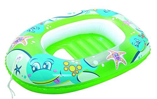 Bestway 34037grx - Kinder Badeboot, 102 x 69 cm, grün, Schlauchboot