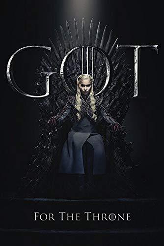 Game Of Thrones Póster, Ver descripción, Multicolor, 61 x 91.5cm