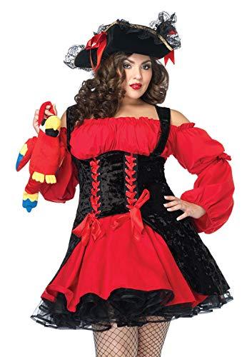 Fantasia feminina Vixen Pirate Wench da Leg Avenue