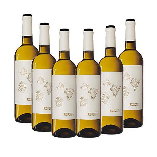 Vino Joven Almodí Petit Blanco – D.O. Terra Alta – Pack vino 6 botellas – Selección Vins&Co – 750 ml