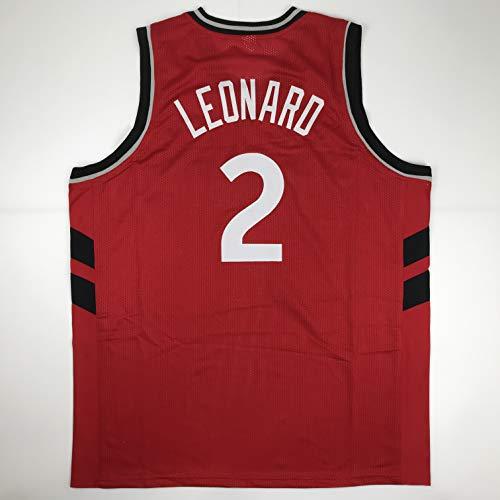Unsigned Kawhi Leonard Toronto Red Custom Stitched Basketball Jersey Size Men's XL New No Brands/Logos