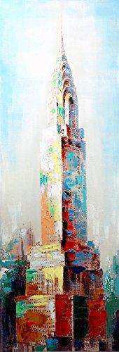 Kunst & Ambiente Chrysler Building New York Gemälde Martin Klein – Architecture, New York Skyline – New York Gemälde