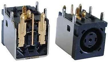 New DC Jack Power Port for Dell Inspiron PP25L PP28L PP41L 1545 1500 1318 1440 Charging Socket Octagonal