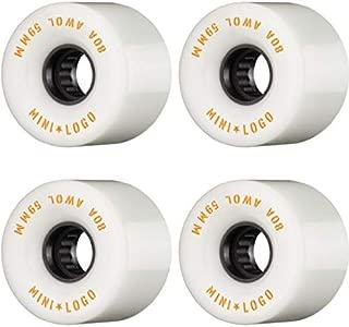 Mini Logo ATF A.W.O.L. 59mm 80a White Wheels Set