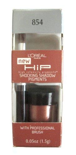L 'Oreal Hip fucsia sombra pigmento sombra ~ 854progresivo ~ Golden marrón