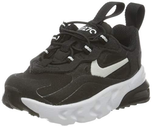 Nike Air MAX 270 RT TD, Zapatillas de Gimnasio Unisex Niños, Blanco y Negro, 34 EU
