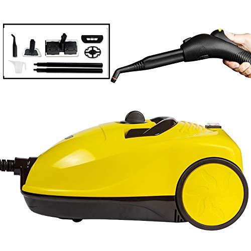 Find Cheap CGOLDENWALL Handheld Pressurized Steam Cleaner 2000W Multipurpose Heavy Duty Steamer Chem...