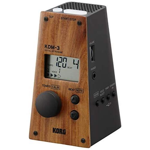 Korg metronomo digitale kdm3-bk, Wood/Black