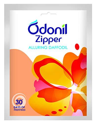 Odonil Bathroom Air Freshener Zipper - Alluring Daffodil - 10g