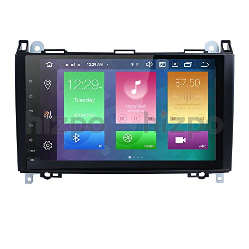 Android 10 Car Stereo GPS Stereo 9 Inch Bluetooth Car Radio for Mercedes W906 Sprinter/V-Class W639/Vito/Viano/B Class W245 B160 B170 B180 B200/A Class W169 A150 A160 A170 A180 A200
