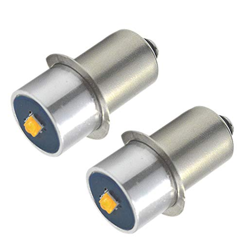 Ruiandsion Lot de 2 ampoules LED P13.5S 6 à 24 V CREE 3 W 3000 K Blanc chaud