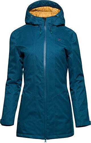 YETI Nikalla W's Down Insulated Shell Coat Damen Hardshelljacke mit Daune Jacke, Arctic Night, Größe S