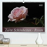 Zarte Schoenheiten - Rosen (Premium, hochwertiger DIN A2 Wandkalender 2022, Kunstdruck in Hochglanz): Edle Koeniginnen der Blumen in ganzer Bluetenpracht (Monatskalender, 14 Seiten )