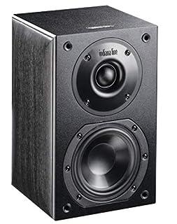 diffusori acustici 2 vie Bass-Reflex amplificazione suggerita 30 - 60 watt dimensioni (LxAxP) 160 x 235 x 160 mm.