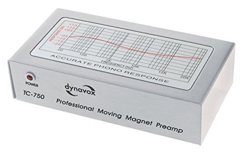 Vorverstärker Phono Dynavox MM Systeme TC 750 Silber