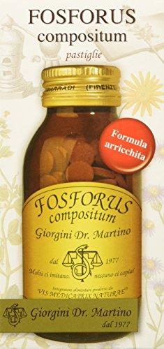 Dr. Giorgini Integratore Alimentare, Fosforus Compositum Pastiglie - 90 g