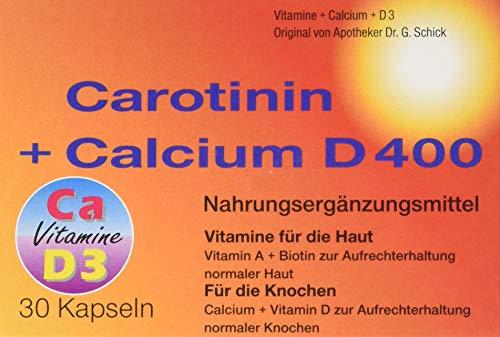 Carotinin+Calcium D400 Kapseln, 71 g