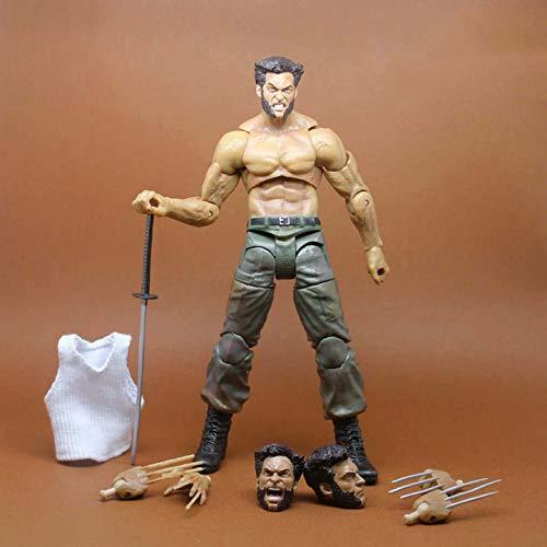 Heroes Wolverine Modell X-Men Actionfigur Multi-Armaturen Puppen Spielzeug Statue Dekorationen 16cm Wolverine