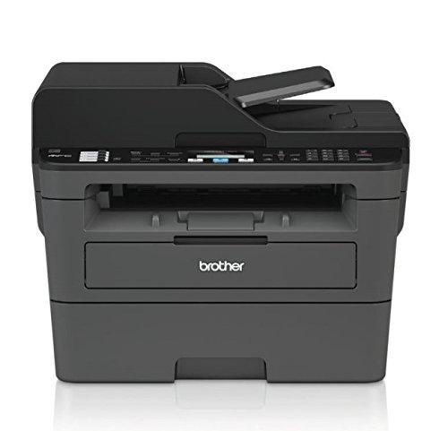 Brother MFC-L2710DN Kompaktes 4-in-1 S/W-Multifunktionsgerät (30 Seiten/Min., Drucken, scannen, kopieren, faxen, A4, echte 1.200x1.200 dpi, USB 2.0, Duplexdruck, LAN)