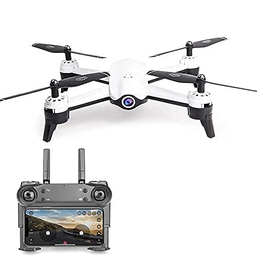 Drone con fotocamera Drone con fotocamera 1080P HD Camera Drone FPV Live Video e GPS Auto Return Quadricottero RC compatto, modalità senza testa, per principianti e professionisti, volo lungo 20 mi