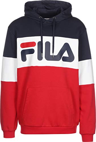 Fila Night Sudadera con Capucha TR Red/bl IRI/Bright White