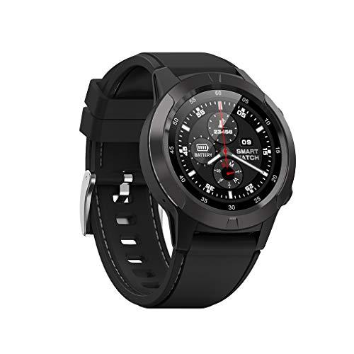 Fulltime North-Edge X-Trek3 Herren Sport Smart Watch Digital Armbanduhr 5ATM wasserdichte Stoppuhr, Professionelle Outdoor Sportuhr, Mit Höhenmesser/Kompass/Wetter/Körpermonitor (Schwarz)