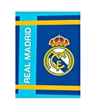 Real Madrid Manta coralina Premium 250gr (100-296), Multicolor, 130x160