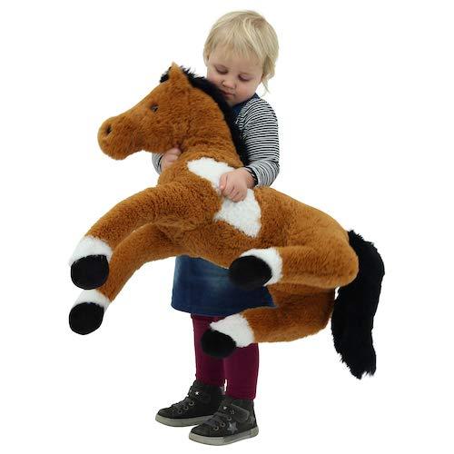 Sweety Toys 1883 Plüsch Pferd Fohlen liegend 90 cm