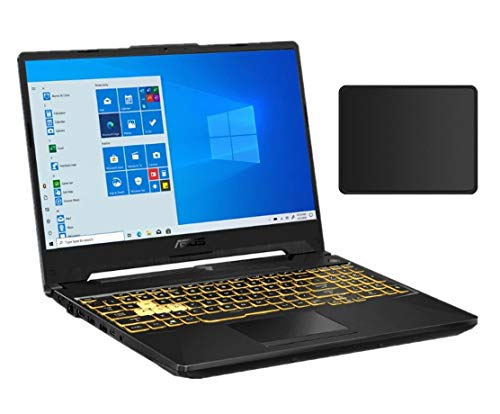 Asus TUF F15 15.6' 144Hz FHD Gaming Laptop | Intel Core i7-10870H | NVIDIA GeForce GTX 1660 Ti | 16GB DDR4 | 512GBSSD | Backlit Keyboard | Windows 10 | Gray | with Woov Mouse Pad Bundled