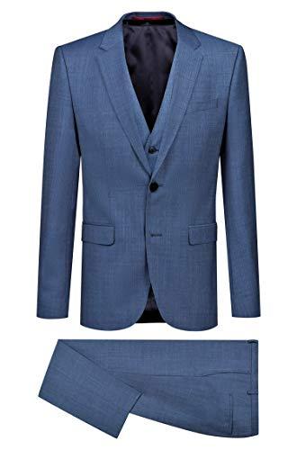 HUGO BOSS jurk met extra slim fit vest model AstianHets184V1-50405359