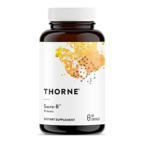 Thorne Research - Sacro-B Probiotic - Enhances Immune Function in The Gut - 60 Capsules