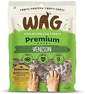 Wag Premium Cuts Venison Dog Treats 50gm