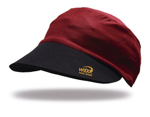 Wind X Treme Gorra con protección UV, Visera Neopreno, elástica, Adaptable, Adulto, (Red)