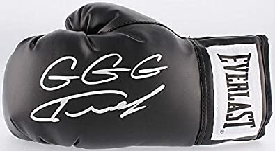 Gennady Golovkin GGG Signed Autograph Boxing Glove Black Tristar Authentic Certified
