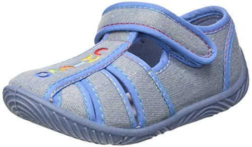 Chicco Sandalo Tullio, Zapatillas de Estar por casa para Niños, Azul (Jeans 860), 30 EU