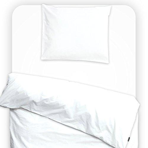 Drap housse imperméable et anti-acariens 60x120cm White - Louis Le Sec
