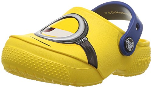 Crocs Fun Lab Minions Clog, Unisex - Kinder Clogs, Gelb (Yellow), 32/33 EU32/33 EU