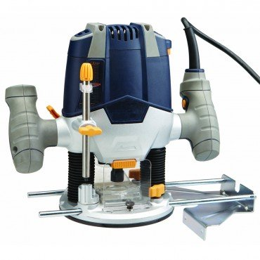 New 1-1/2 HP Variable Speed (11,000 to 28,000 RPM) Plunge Router Super Duty; Includes edge guide and...