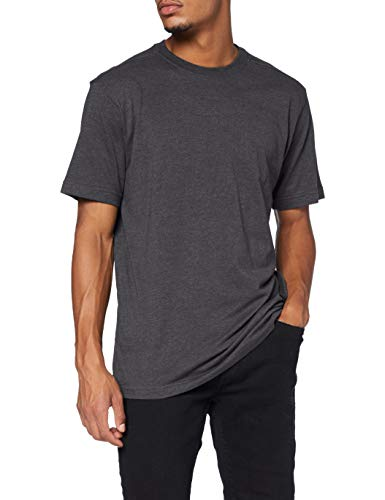 Carhartt Herren Maddock Short-Sleeve T-Shirt, Carbon Heather, XL