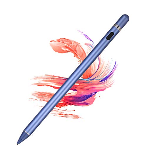 Active Stylus Pens for Touch Screens, maylofi Rechargeable Digital Stylish Pen Pencil Universal for iPhone/iPad Pro/Mini/Air/Android and Most Capacitive Touch Screens (Blue)