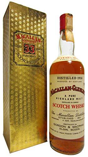 Macallan - Pure Highland Malt - 1950 33 year old Whisky