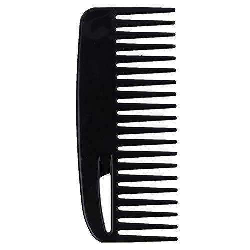 Conditioner-kam, ABS Ultra Smooth beste styling-kam voor lang, nat of krullend haar. Geschikt voor snor of baard.
